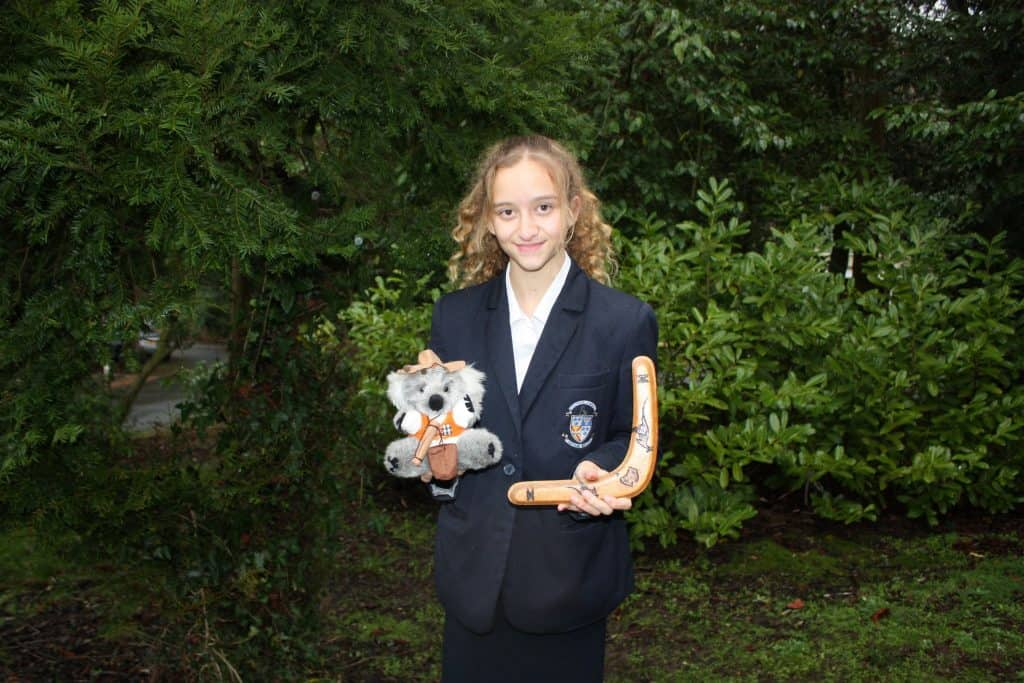 Year 10 pupil raising funds for charity