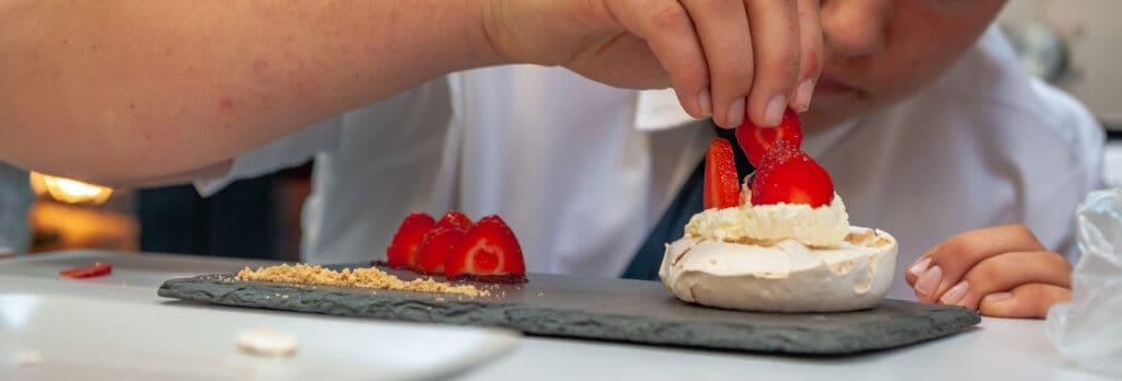 GCSE pupil Food Technology